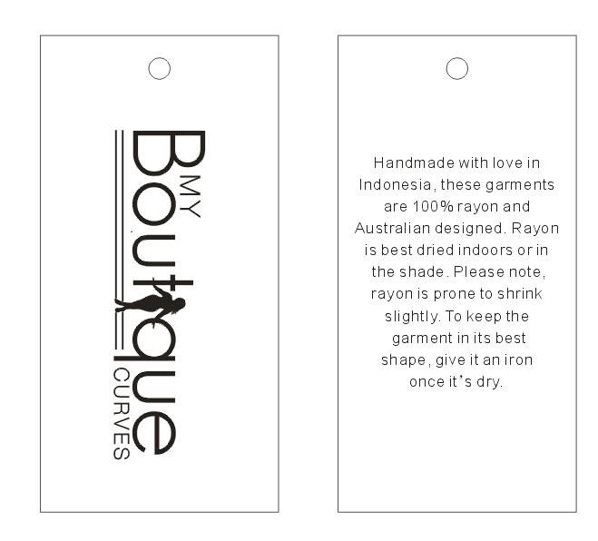 Boutique Tags