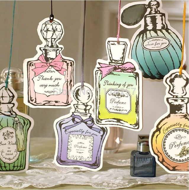 Perfume Tester Tags