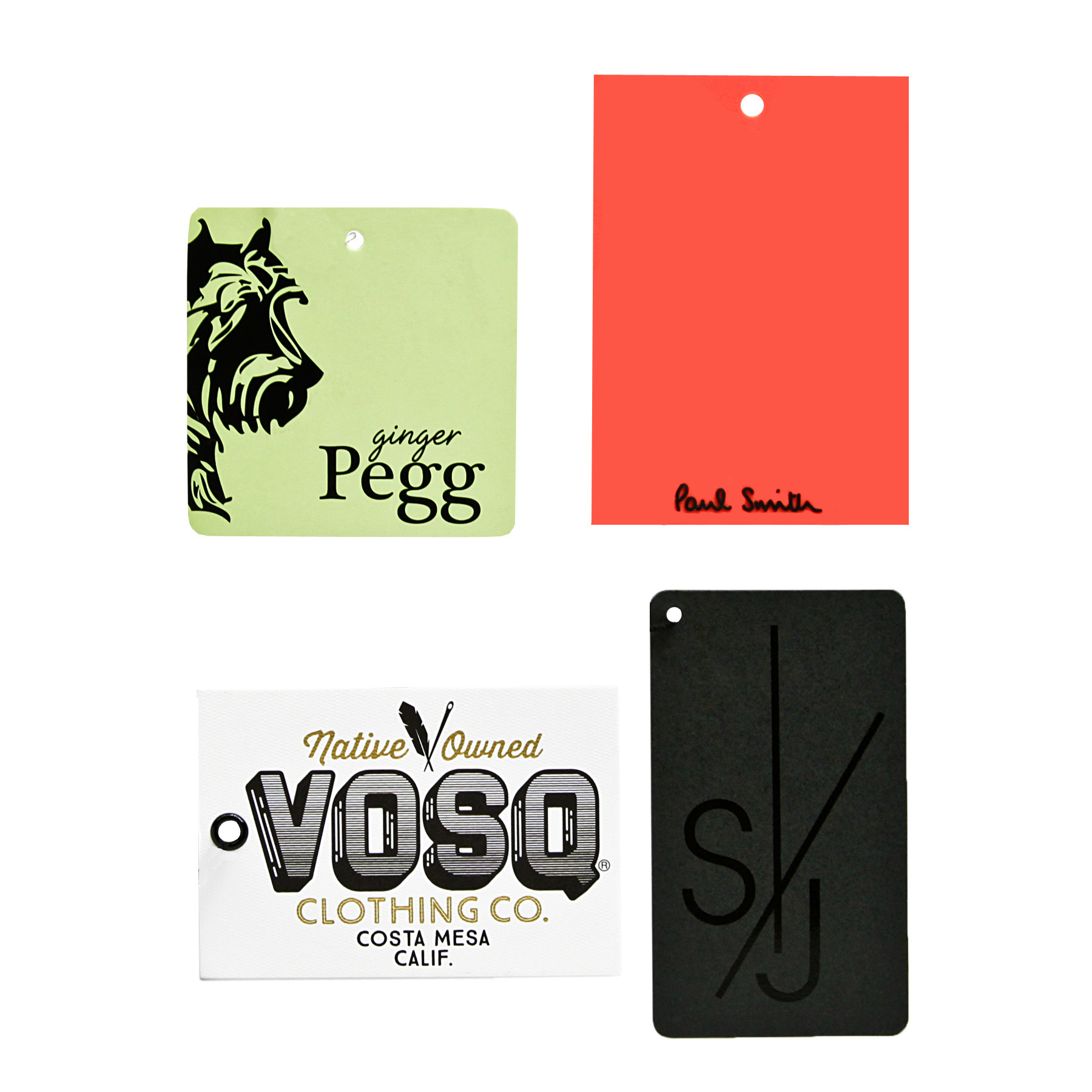 Apparel Hang Tags