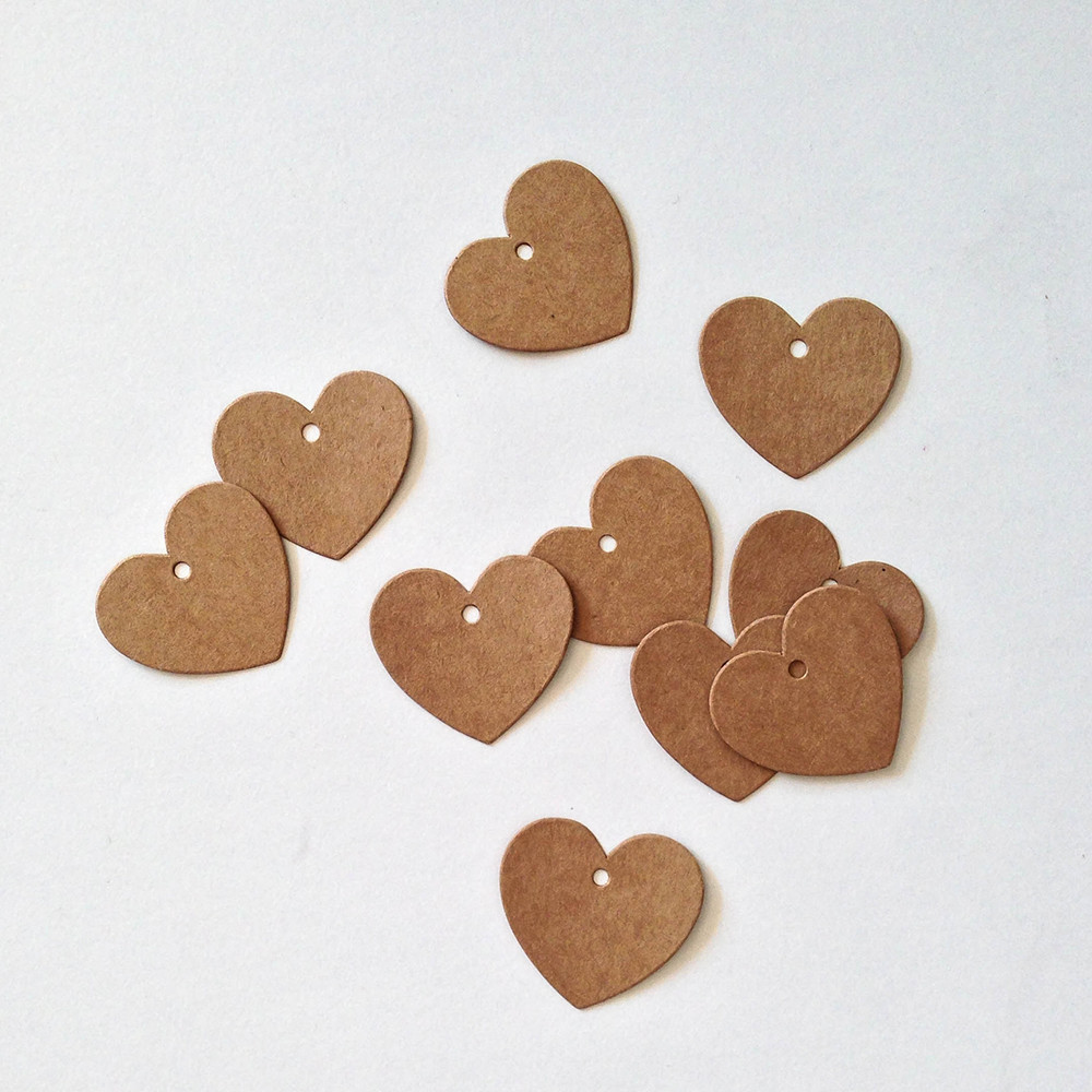 Mini Heart Tags