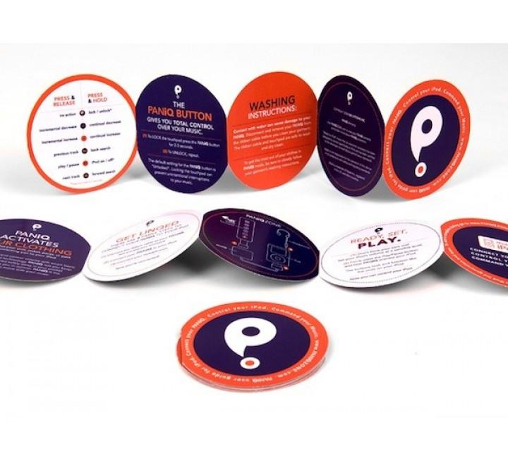 Custom Circular Tags