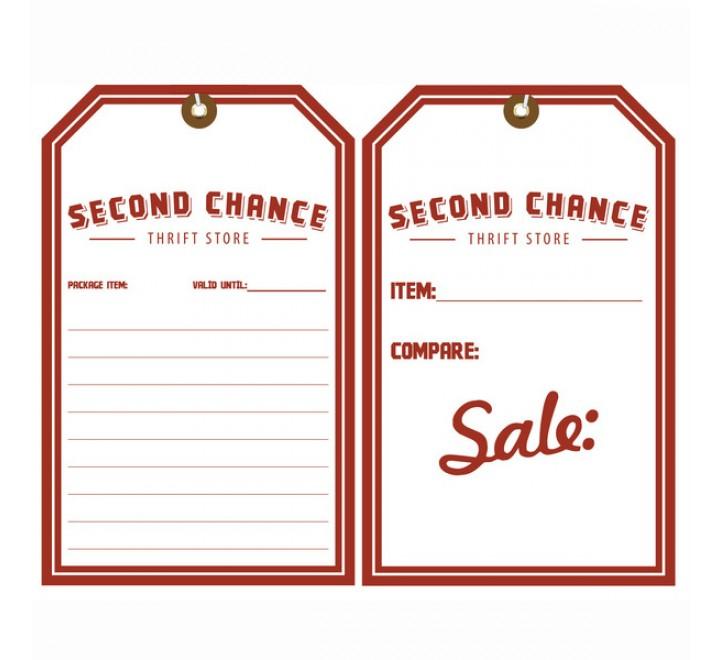 Rectangular Sale Hang Tags
