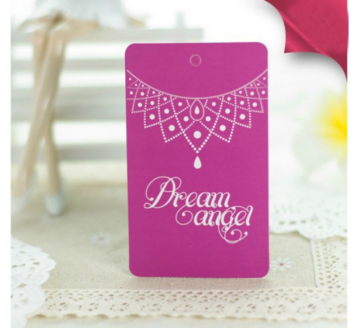 Rectangular jewellery Hang Tags