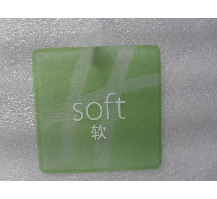 Square Plastic Hang Tags