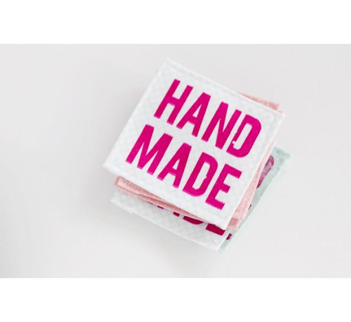 Square Silkscreen Printed Tags