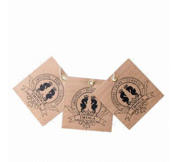Square Jeans Paper Hang Tags