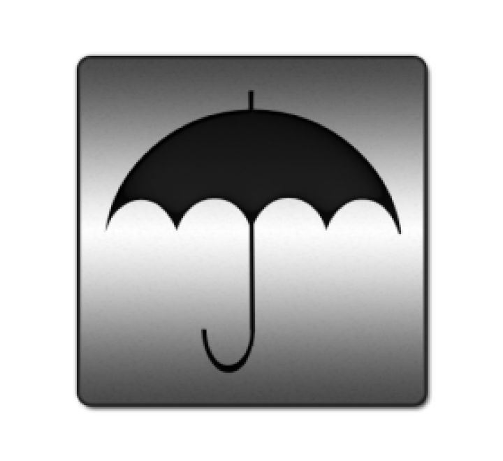 Square Umbrella Hang Tags
