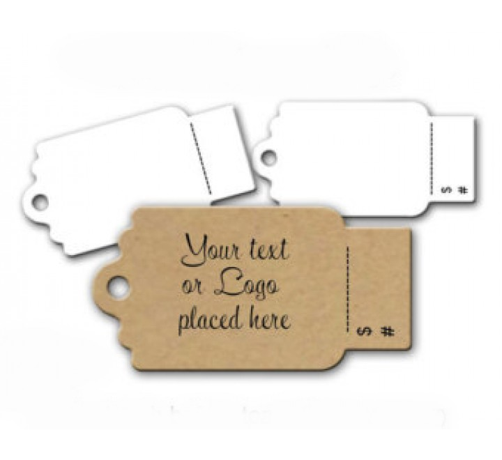 Custom Tear Off Tags