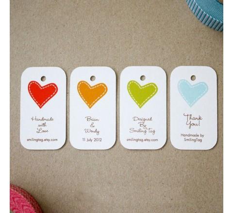 Custom card hang tags