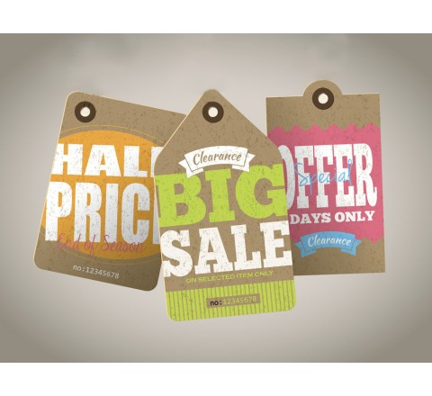 Custom Sale Hang Tags