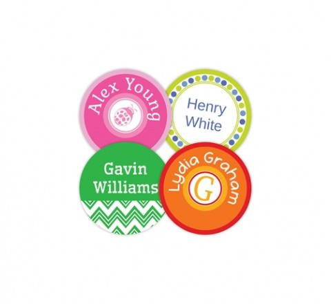 Custom Bubble Circular Tags