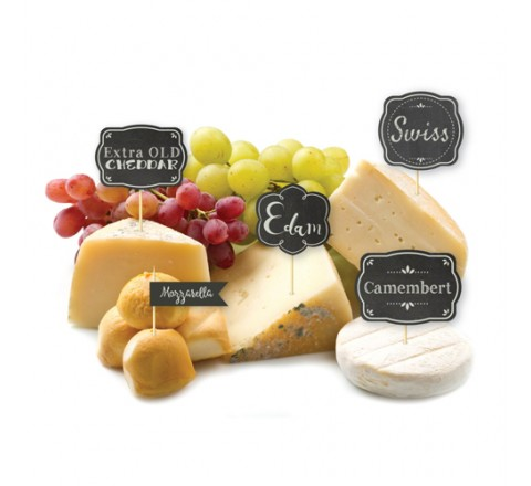 Die Cut Cheese Hang Tags