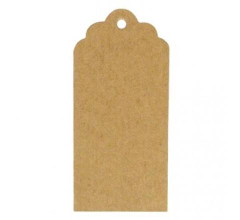 Die cut Kraft Paper Hang Tags
