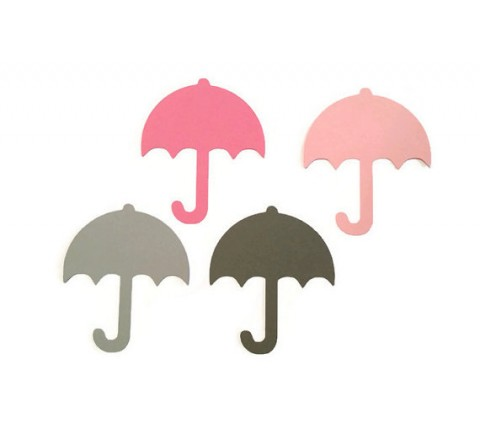 Die cut Umbrella Hang Tags