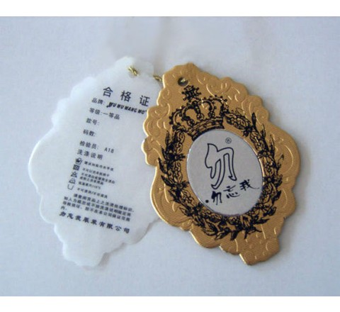 Die cut Toys Tags