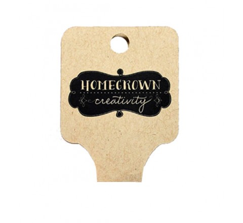 Die Cut Classic Fold Over Tags