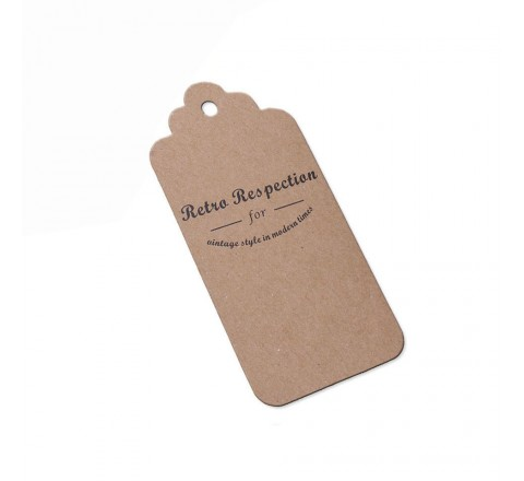 Rectangular Waterproof PVC Hang Tags