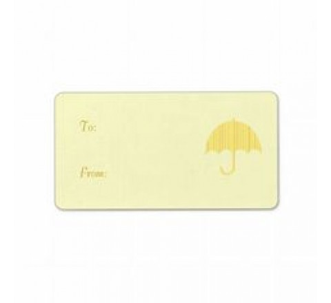 Rectangular Umbrella Hang Tags