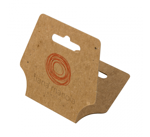Rectangular Fold Over Hang Tags